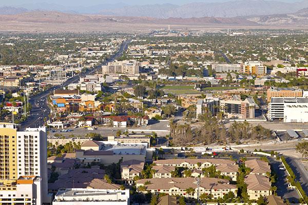 las vegas residential landscape